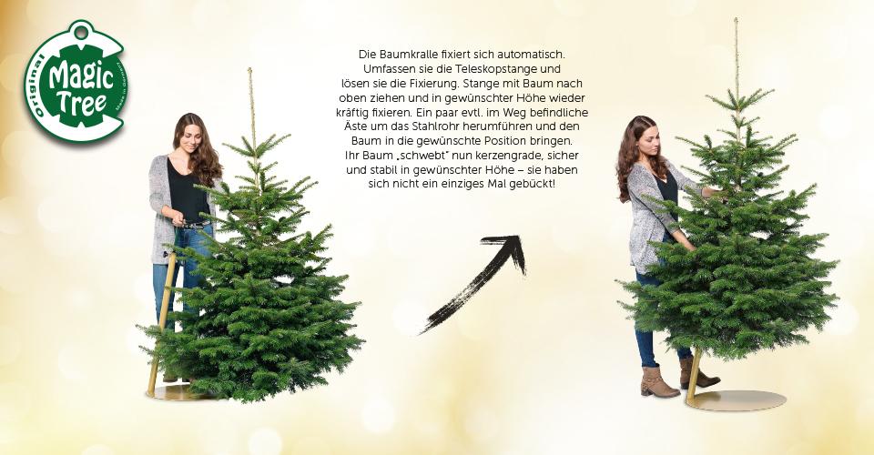 magic tree der geniale weihnachtsbaumst nder beyond balance. Black Bedroom Furniture Sets. Home Design Ideas
